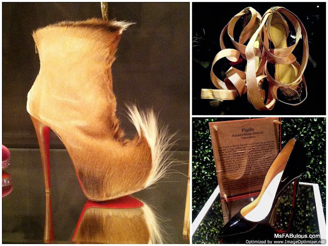 louboutin fur boot