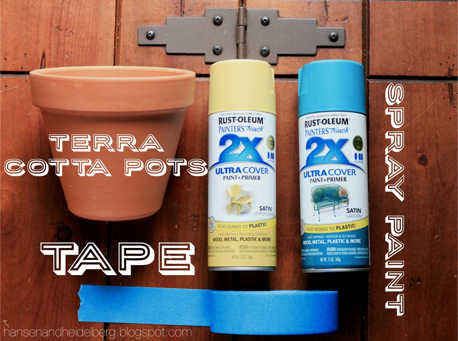 diy terra cotta pot