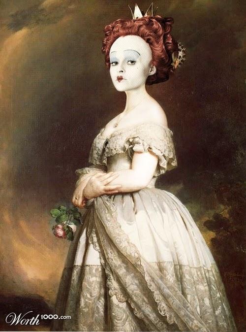 06-Helena-Bonham-Carter-Red-Queen-Old-Age-Designer-&-Illustrator-Marcus-Aurelius-www-designstack-co