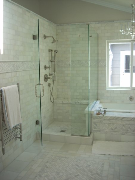 Custom bathroom vanities designs - Shower Doors Custom Casework Custom And Detailed Tile Patterns Jpg