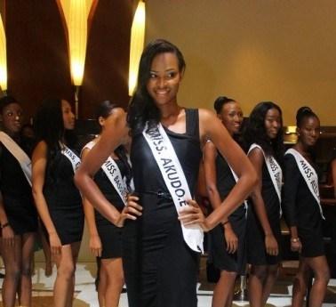 Miss Nigeria 2013 Winner