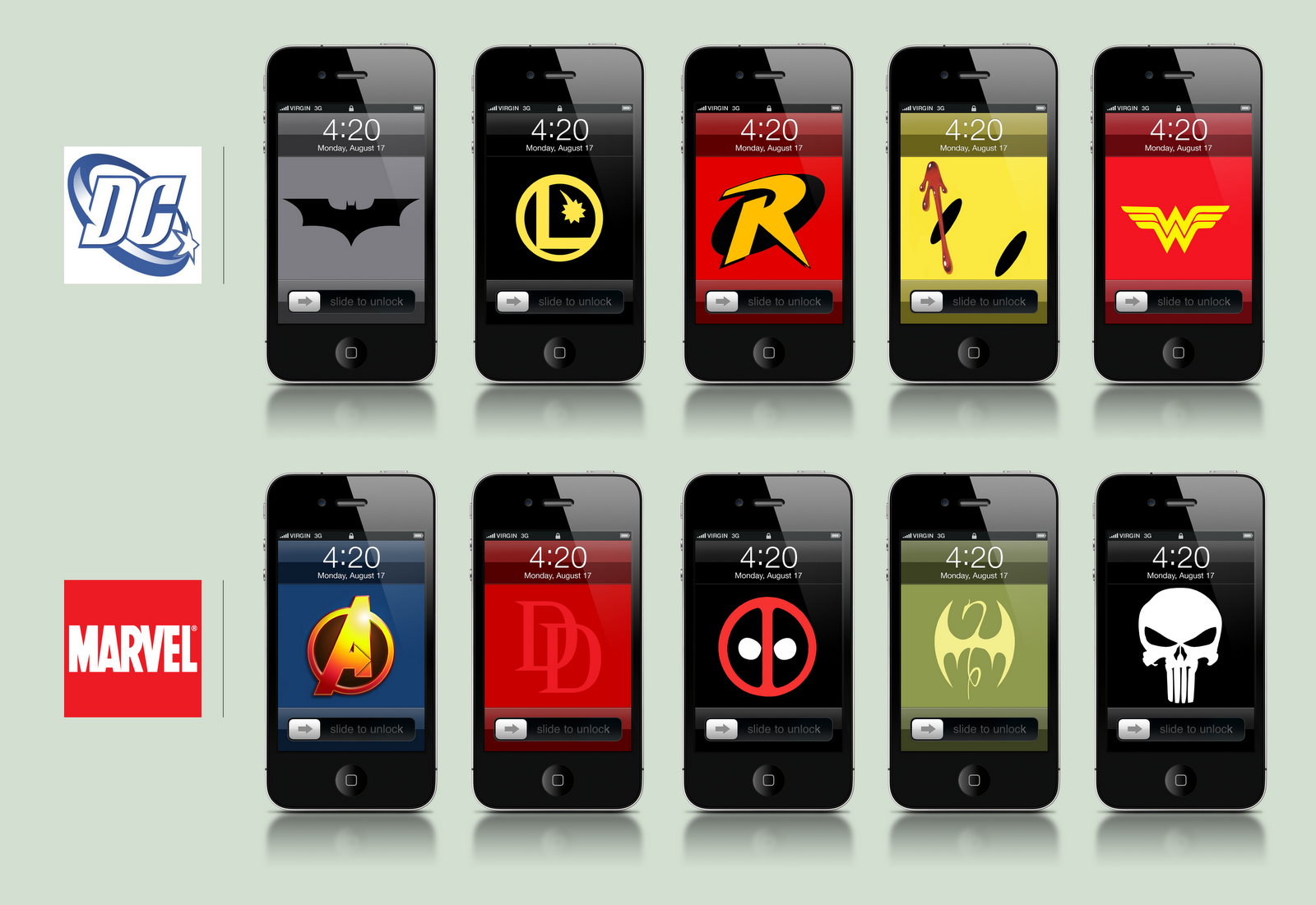 370 Wallpapers Para Iphone: 4 Paquetes Con +35 Wallpapers De Comics Para IPhone