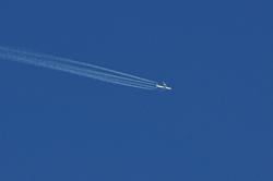 Flieger Richtung Osten...
