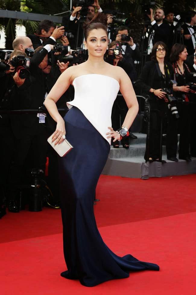 Aishwarya Rai at 64th edition of Cannes film festival in 2011