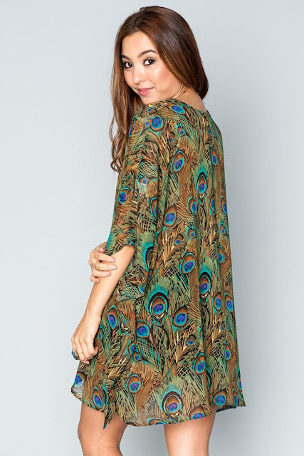 Peta Tunic in Peacock by Show Me Your Mumu