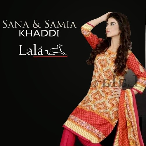 Sana Samia Khaddi Winter Collection 2014