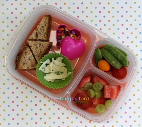 Bento scraps for the toddler