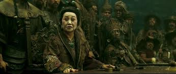 Mistress Ching from Pirates of the Caribbean: At World's End .