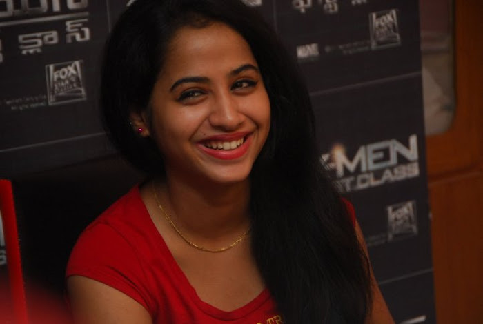 swathi deekshit xmen first cl hollywood movie premiere events latest photos