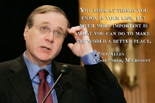 Inspiring Quotes on Education by  Paul Allen