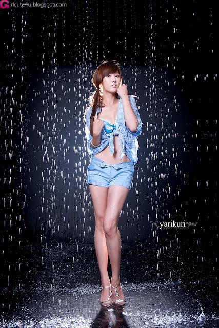 2 Nam Eun Ju in Blue-Very cute asian girl - girlcute4u.blogspot.com