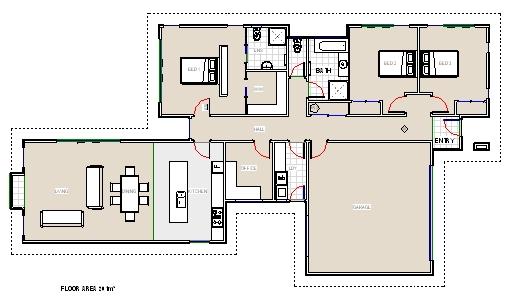 Charleston Single House Plans