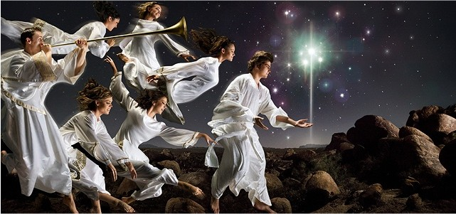 Angels Heralding Christ's Birth
