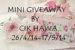 Mini Giveaway | Cik Hawa | Shaklee | Sungai Buloh | Setiawangsa