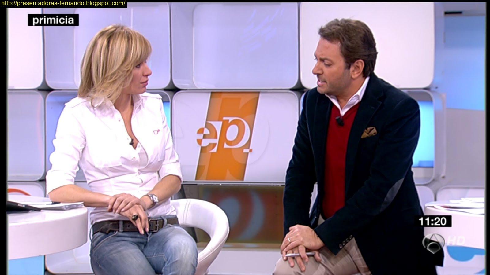 Presentadoras fernando susana griso camisa y vaqueros espejo publico 10 2 2012 - Espejo publico hoy ...