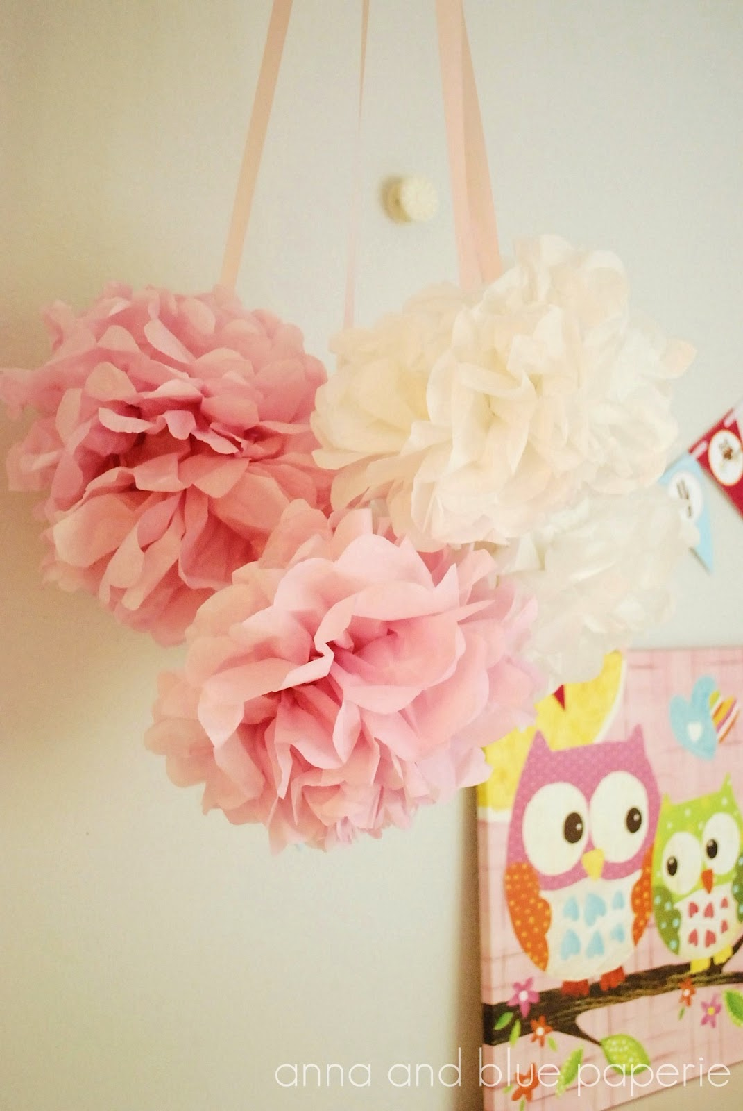 tissue paper pom poms tutorial Supplies: • tissue paper (i use 10 sheet, 20 inch by 20 inch) hobby lobby note: since publishing this tutorial, hobby lobby has changed the tissue paper to 8 sheets and $129 per package.