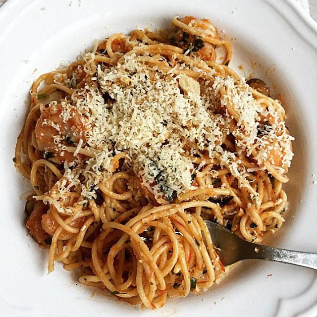 Pasta by dashofsavory. Visit www.forarealwoman.com  #foodie #blogger #recipe #recetas