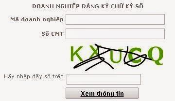 dang nhap su dung chu ky so