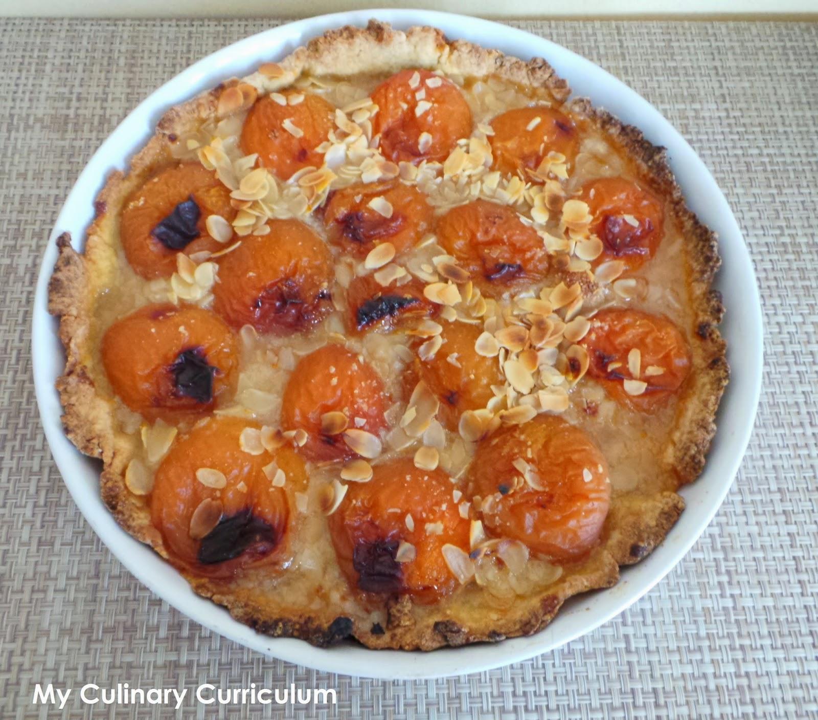 My Culinary Curriculum: Tarte aux abricots et aux amandes ...