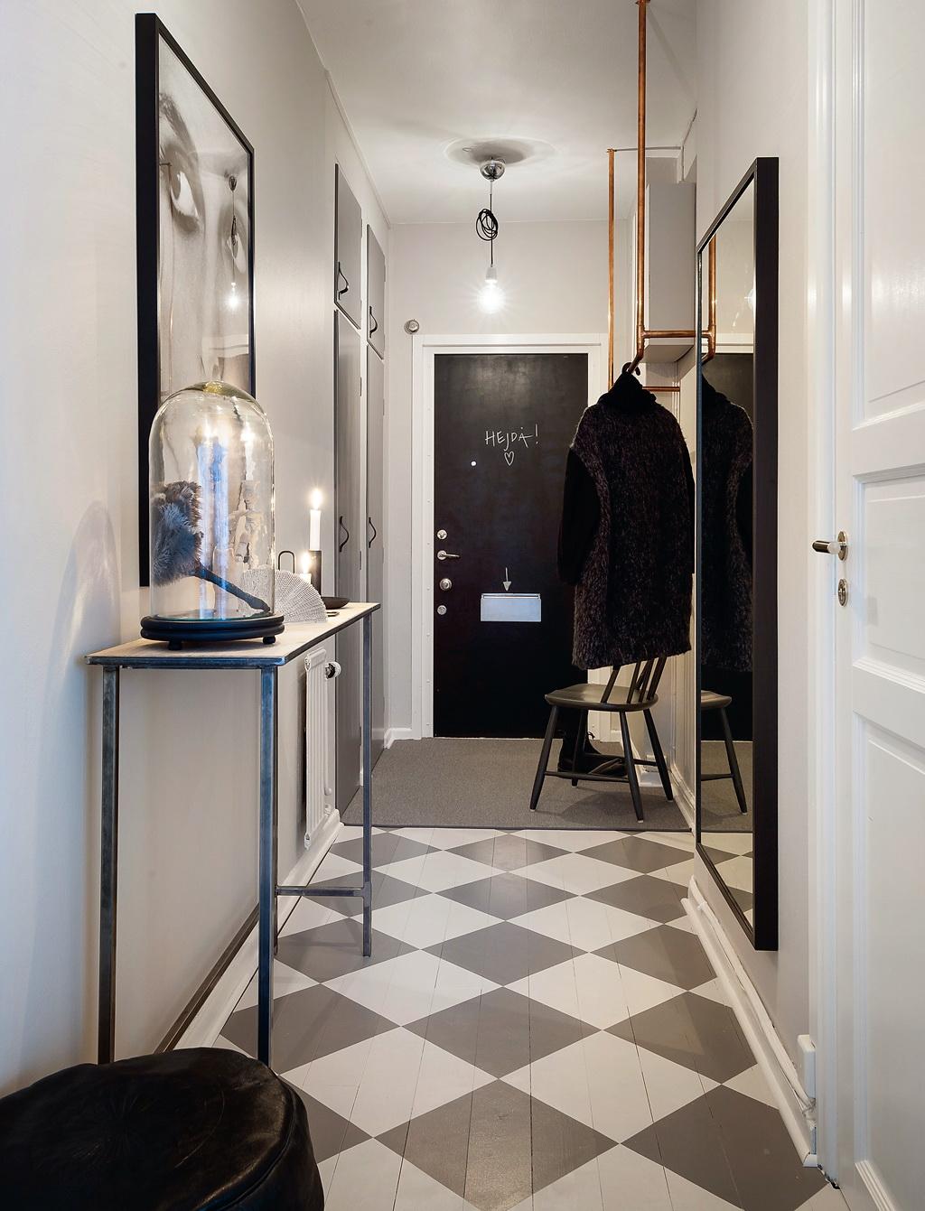 Fabuleux Pellmell Créations: Un appartement hollandais en noir et blanc XA49