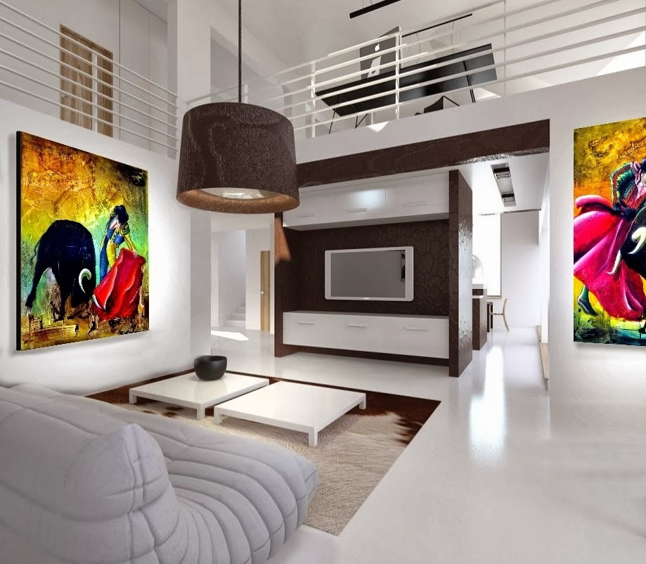 New Home Designs Latest Homes Interior Designs Studyrooms: Venda De Quadros Com Pinturas Originais. Artes Plásticas