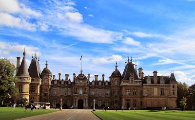Waddesdon Manor, autumn, Baron Ferdinand de Rothschild, National Trust, visit, day trip, grounds