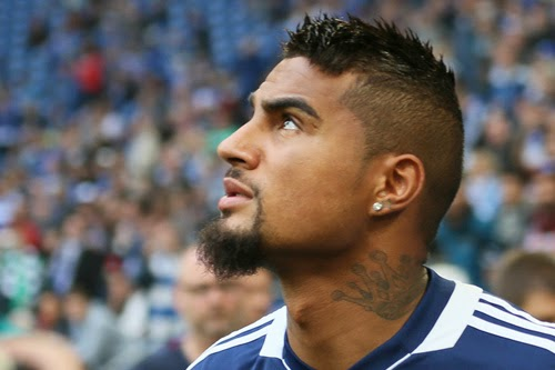 Kevin Prince Boateng Hairstyles Photos