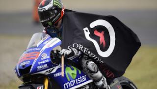 Jorge Lorenzo Juara Dunia MotoGP 2015