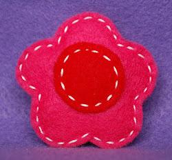 shocking pink w/red
