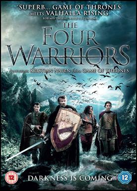 Os Quatro Guerreiros - DVDRip AVI Dual Áudio – RMVB Dublado