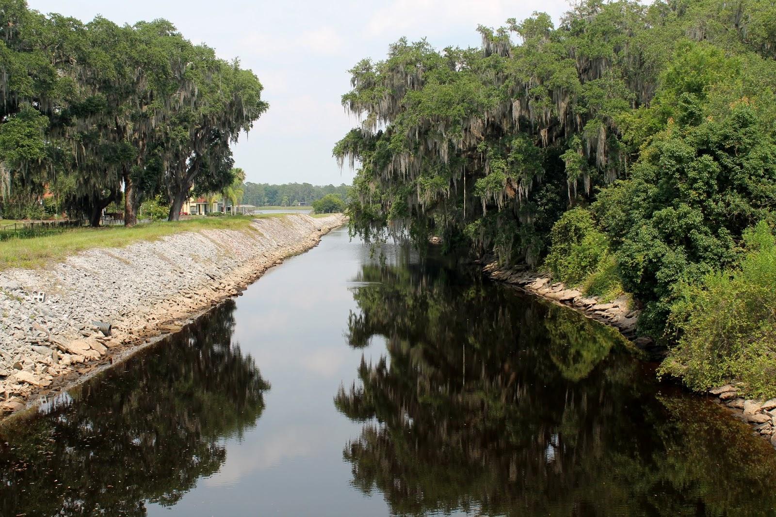 Canales entre lagos