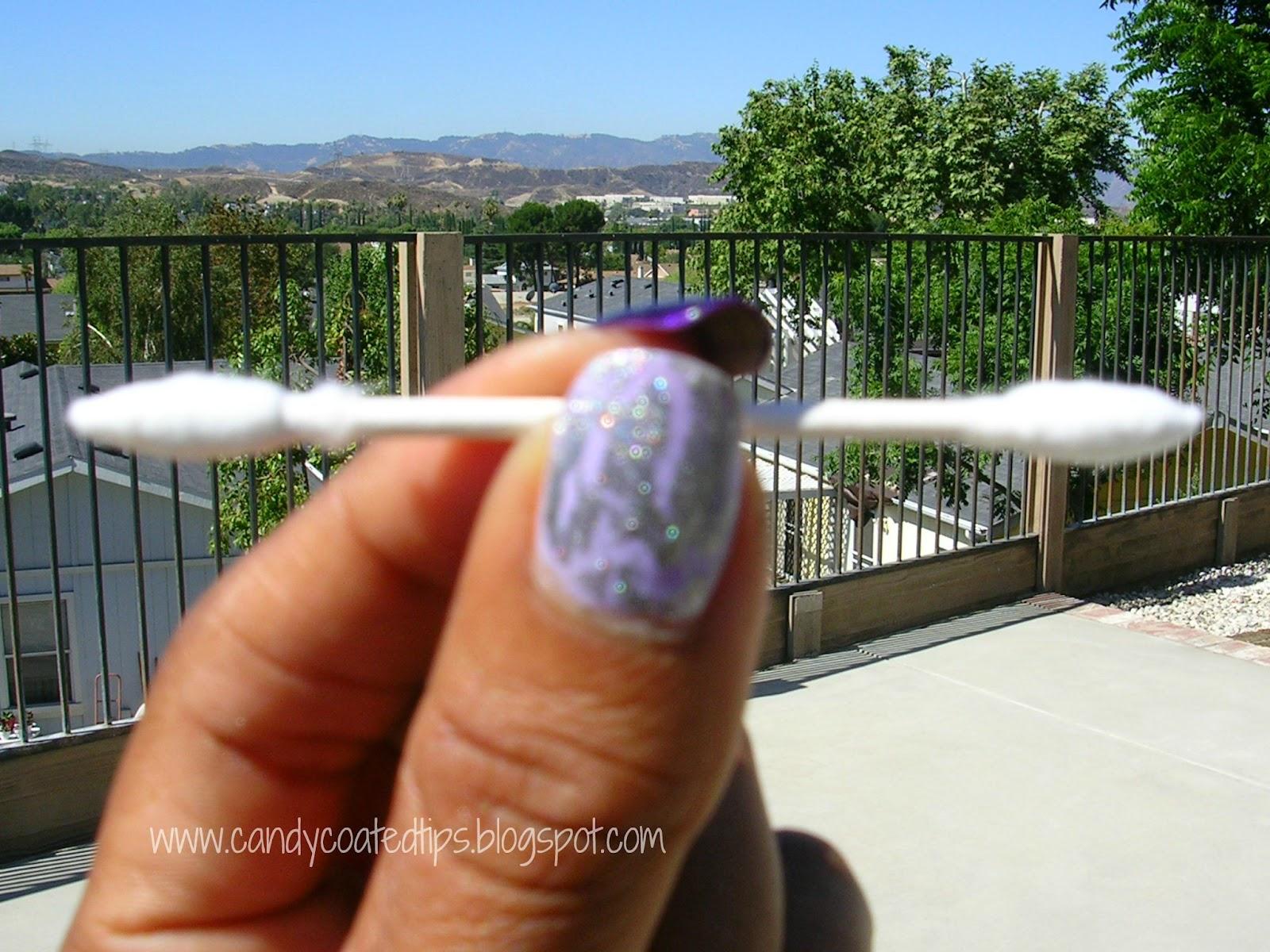 CANDY COATED TIPS: Nail Polish PSA: Q-tips® Precision Tips®