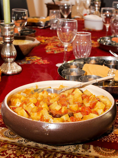 ... Of Indian Cooking: NIce and Easy Holiday Turnips With Cumin and Tomato