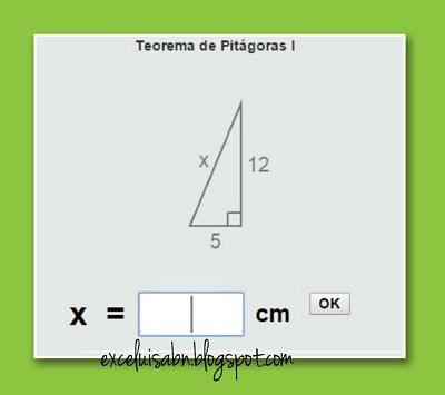 Aplicar el Teorema de Pitágoras.