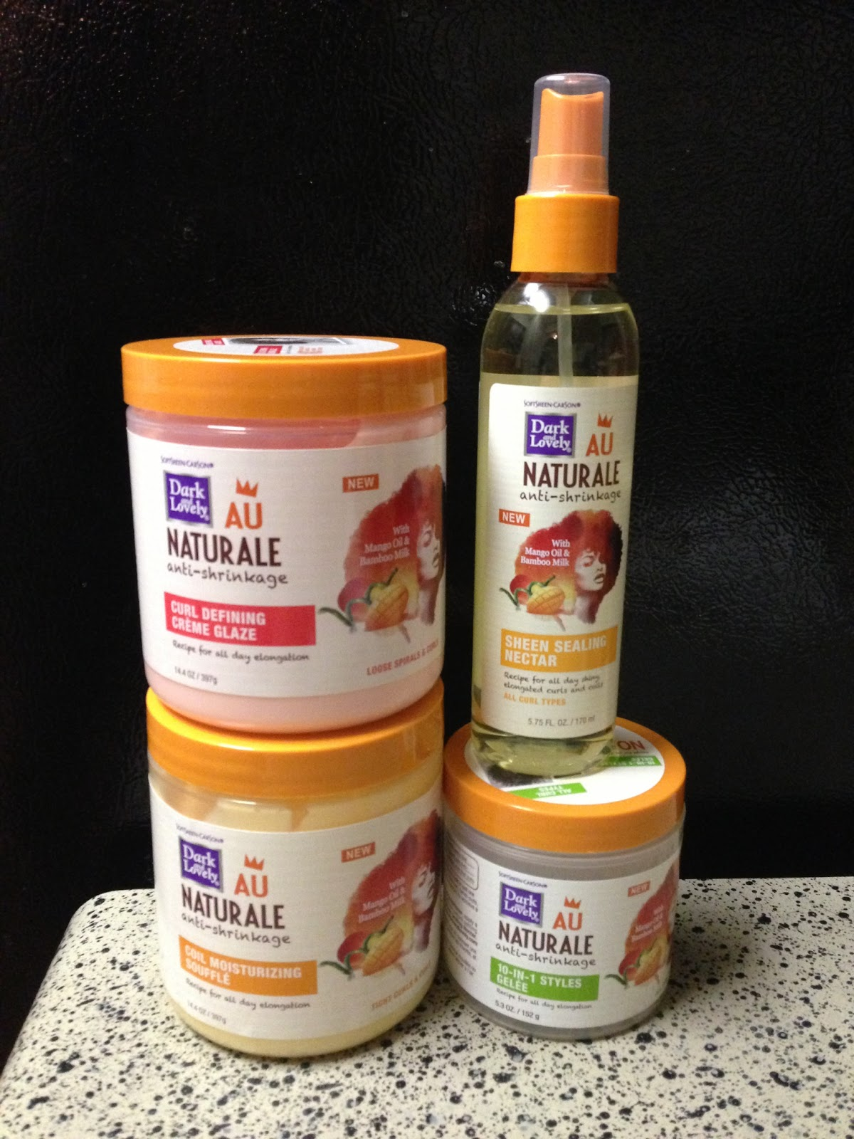 NEW! Dark and Lovely Au Naturale Anti-Shrinkage for Natural Hair ...