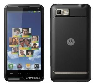 Estreia do Motorola Motoluxe na CES 2012