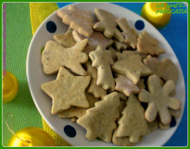 biscotti con farina di ceci, arancia ed uvetta - galletas de garbanzos, naranja y pasas