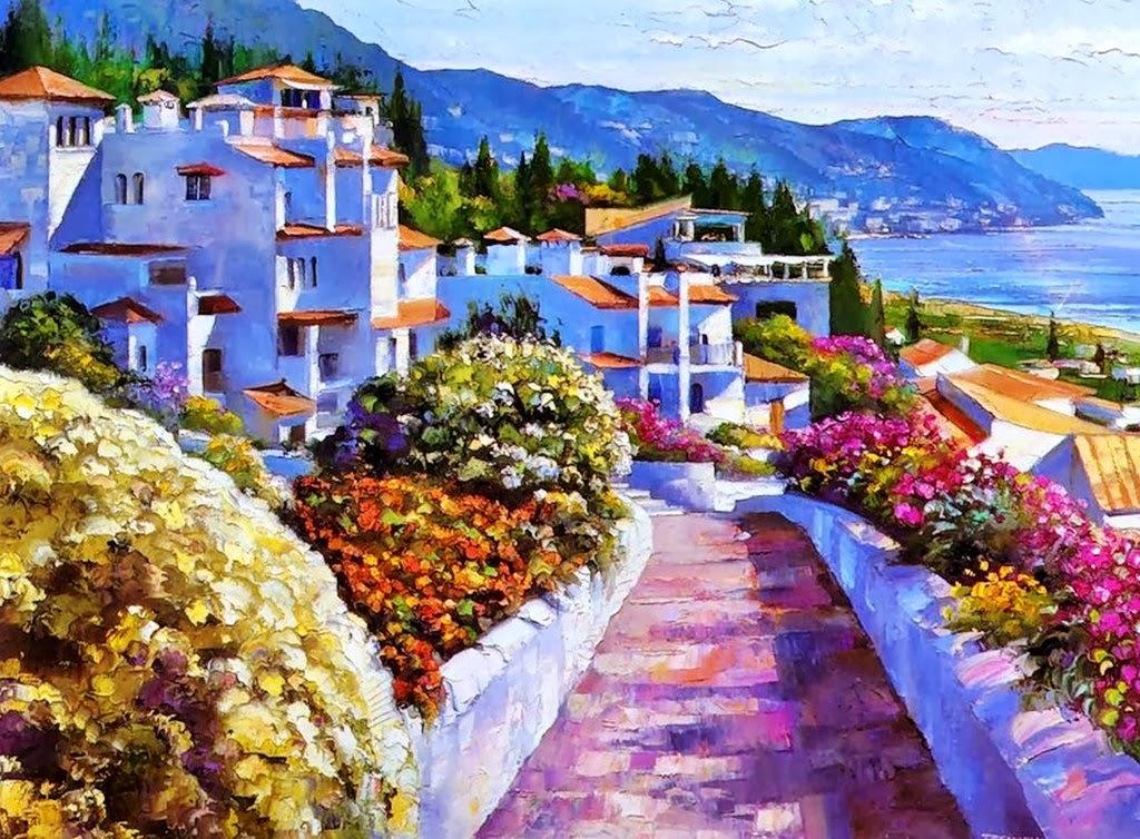 cuadros modernos pinturas y dibujos cuadros de paisajes