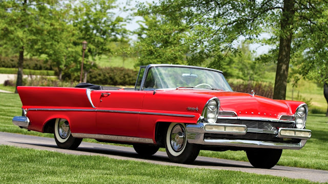 lincoln premiere convertible 1957 carros antiguos