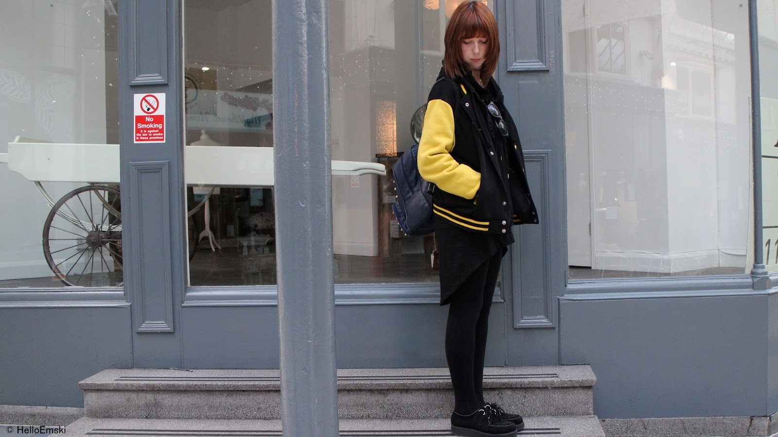 Streetstyle, Football Jacket outfit