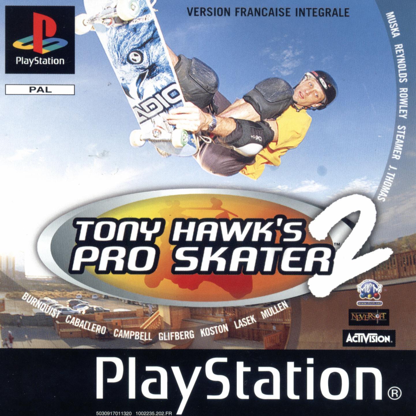 Tony Hawk's Pro Skater 2 - Análise