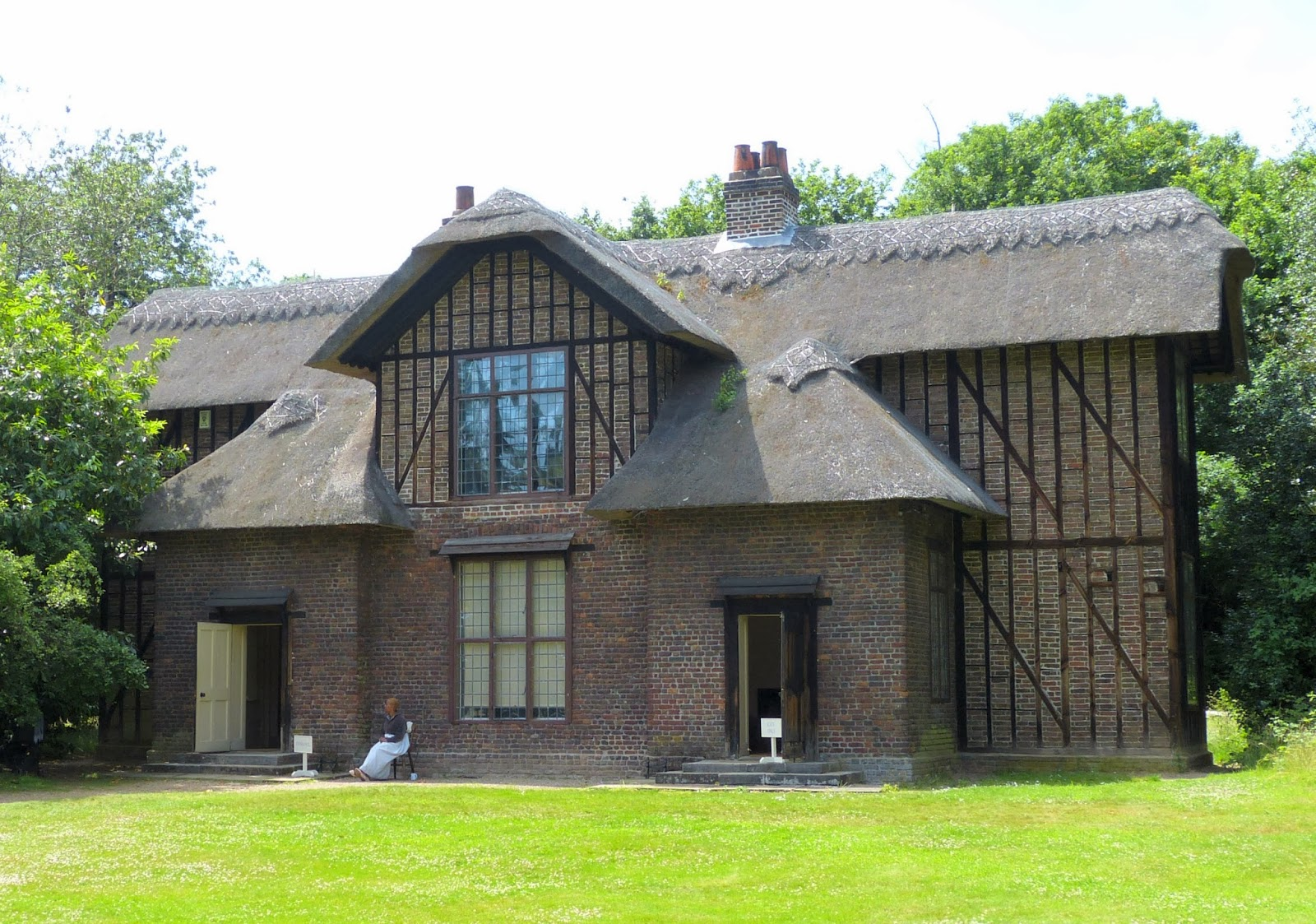 Queen Charlotte's Cottage, Kew Gardens, London