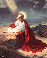 Jesus clamando ao pai