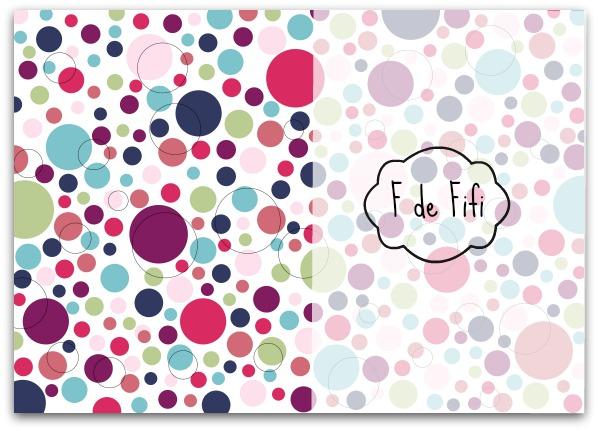 Imprimible papel topos blog f de fifi manualidades - Papeles para decorar ...