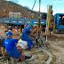OBRA CONTINUA :SONDAGENS SÃO FEITAS NO EIXO DA CONSTRUÇÃO DA BARRAGEM DO JAPI EM CUITÉ