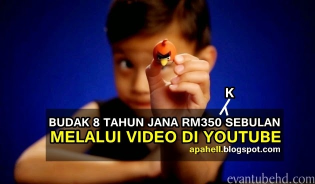 Video : Budak 8 Tahun Jana Pendapatan RM350K Sebulan Melalui Youtube