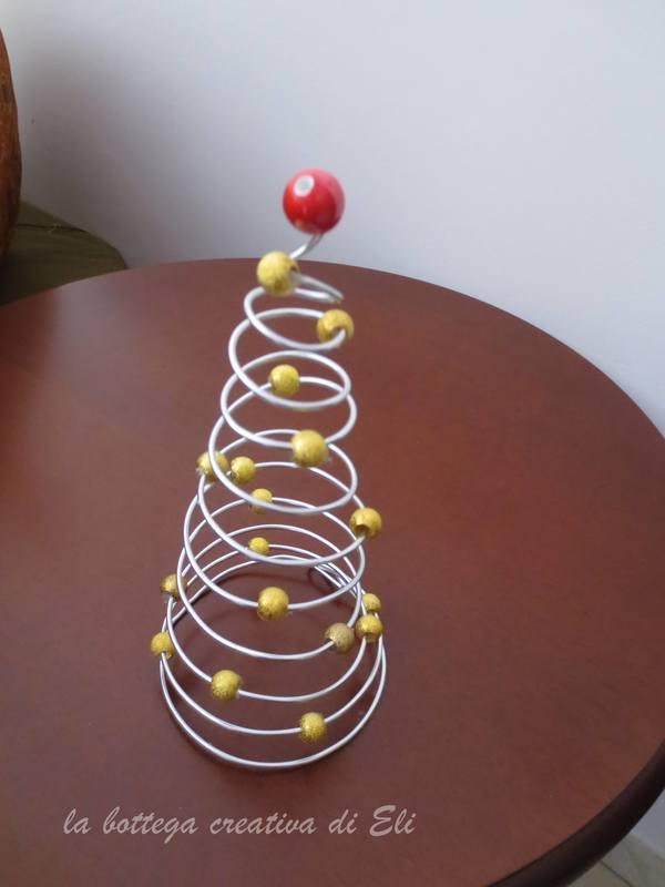 Albero spirale un creativo albero di natale fai da te for Lavori creativi fai da te