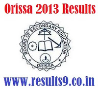 Manabadi Odisha SSLC supplementary Results 2013