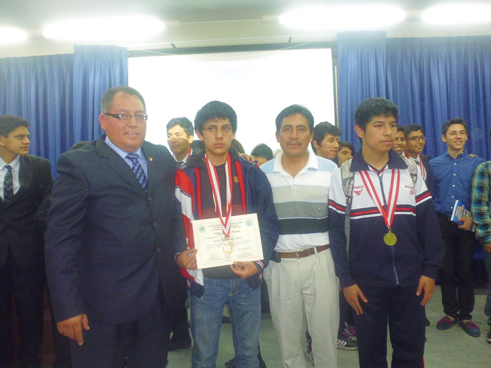 IX OLIMPIADA PERUANA DE BIOLOGÍA OPB 2015.