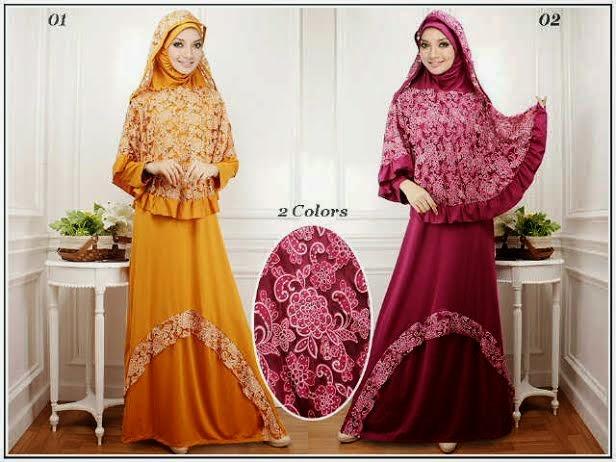 Baju Gamis Busana Muslim Trend 2014 2015 Terbaru Aneka